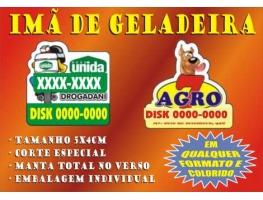 Imãs de geladeira 2022 - 1.000 IMÃS DE GELADEIRA 5x4 CM C/ CORTE ESPECIAL PAPEL COUCHÊ 240G colorido