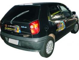 Imãs para carro - IMÃ PARA CARRO EM VINIL BRANCO COLORIDO MANTA 0,8 (METRO QUADRADO)
