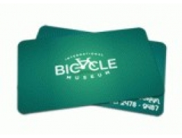 Cartão de Visita em PVC - 1000 CARTÕES 84x54mm PVC BRANCO 0,3mm 4x0 CORES